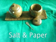 Salt and Paper Mangkok