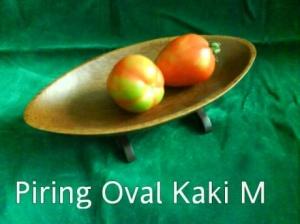 Piring Oval Kaki M