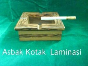 Asbak Kotak Laminasi