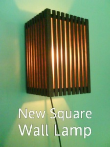 New Square Wall Lamp