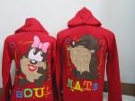 jaket tazmania soulmate merah b