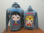 jaket tebal superman abu tua b (140rb)