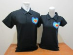 polo love pelangi hitam a