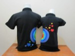 polo love pelangi hitam b
