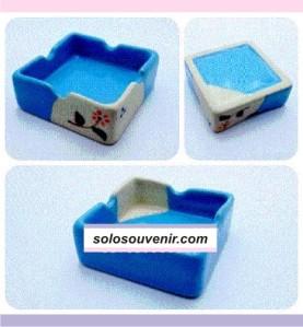 Souvenir Pernikahan Asbak Kotak (AB02)