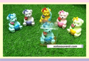Souvenir Pernikahan Boneka Teddy Bear
