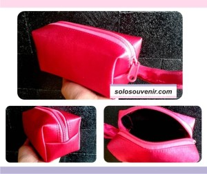 Souvenir Pernikahan Dompet Make Up Mini