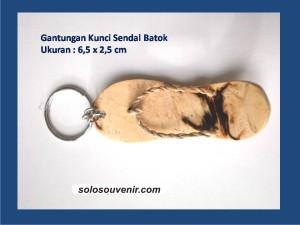 Souvenir Pernikahan Gantungan Kunci Sendal Batok