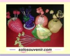 Souvenir pernikahan garpu buah