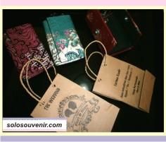 Souvenir Pernikahan Dompet STNK Batik + Paperbag