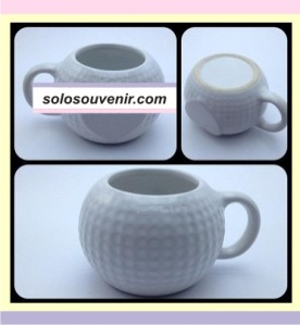 Souvenir Pernikahan Mug keramik Golf Love(DMG13)