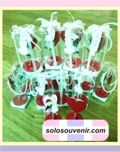 Souvenir Penjepit Memo Couple Love