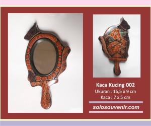 Souvenir Pernikahan kaca batik kucing 002