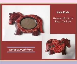 Souvenir Pernikahan kaca batik kuda