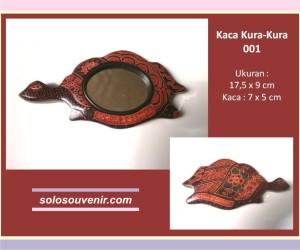 Souvenir Pernikahan kaca batik kura-kura 001