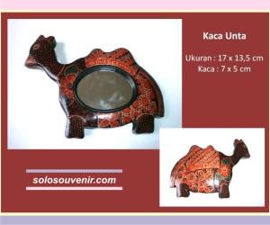 Souvenir Pernikahan kaca batik unta