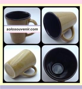 Souvenir Pernikahan Mug keramik Kerucut Tinggi (DMG-02)