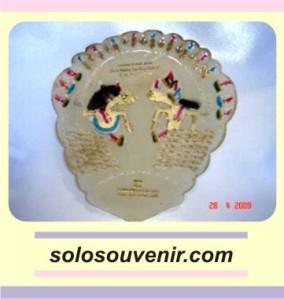 Souvenir Pernikahan Kipas Kulit Wayang