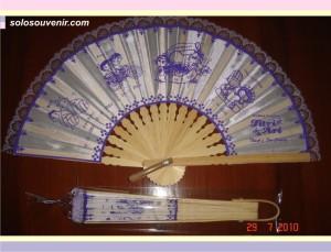 Souvenir Pernikahan kipas souvenir