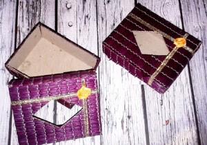 Souvenir Pernikahan Tempat Tissu Kotak Tikar Kecil