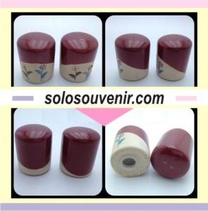 Souvenir Pernikahan Keramik Tempat Garam / Mrica / Lada Bulat (TM02)