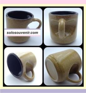 Souvenir Pernikahan Mug keramik Lekuk Hati(DMG06)