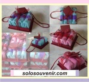 Souvenir Pernikahan Towel cake Lipat -lipat