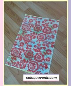 Souvenir Pernikahan Placemate Mendong Batik List