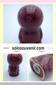 Souvenir Pernikahan Keramik Tempat Garam / Mrica Smile Kecil (TM11)