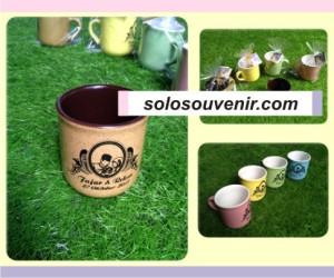 Souvenir Pernikahan Mug DMG 1 Sablon Plastik