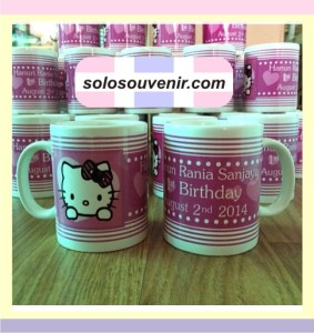 Souvenir Pernikahan Mug Keramik