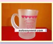Souvenir Pernikahan Mug langsing dove