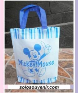 Souvenir Pernikahan Tas Ultah Kecil Mickey Mouse