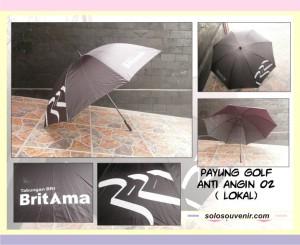 Souvenir Pernikahan Payung Golf Anti Angin 02 ( lokal)