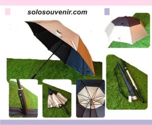 Souvenir Pernikahan Payung Golf Susun Walet