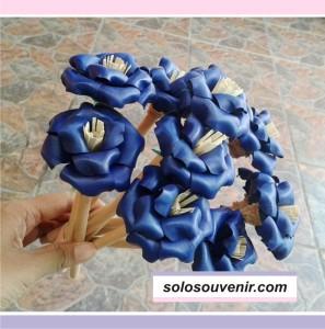 Souvenir Pernikahan pensil bunga