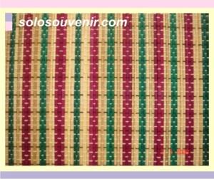 Souvenir Pernikahan Placemate lidi 3 warna