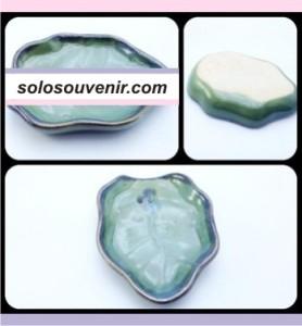Souvenir Pernikahan Sabun daun hijau besar (LP06)