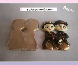Souvenir Pernikahan boneka besar