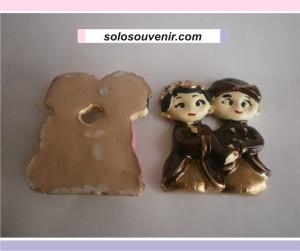 Souvenir Pernikahan boneka kecil