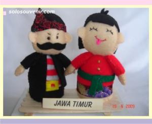 Souvenir Pernikahan boneka flanel JATIM