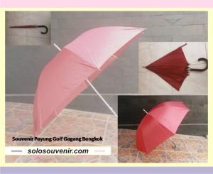 Souvenir Pernikahan patung golf warna gagang bengkok