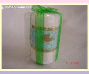 Souvenir Pernikahan towel cake 005