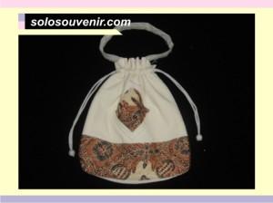 Souvenir Pernikahan tas batik Serut 003