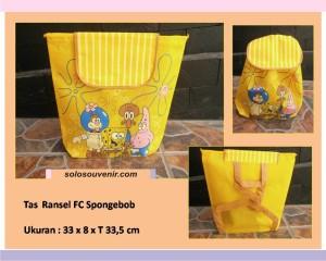 Souvenir Pernikahan Tas Ransel Spongebob