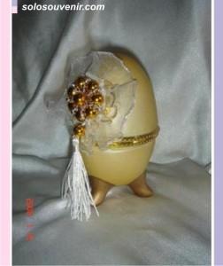 Souvenir Pernikahan Tempat Perhiasan bentuk telur