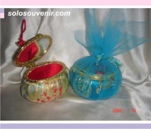 Souvenir Pernikahan Tempat Perhiasan + tali