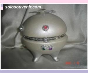 Souvenir Pernikahan Tempat Perhiasan telur+kupu
