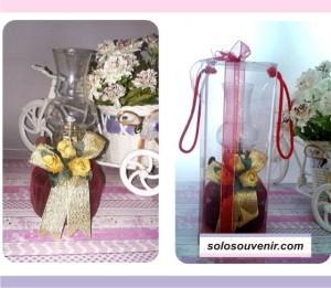 Souvenir Pernikahan Teplok Tanggung Tile Mika