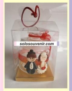 Souvenir Pernikahan Toples Clay Besar Mika